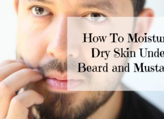 How To Moisturize Dry Skin Under Beard & Mustache