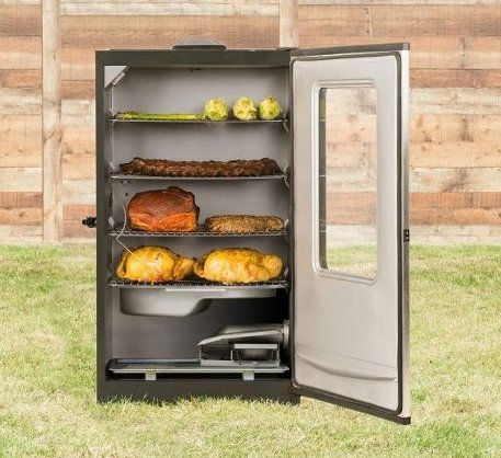 Masterbuilt 20070311 40-Inch Top Controller Electric Smoker with Window